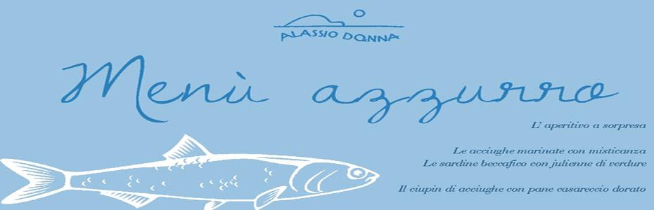 alassio donna locandina  - azzurro