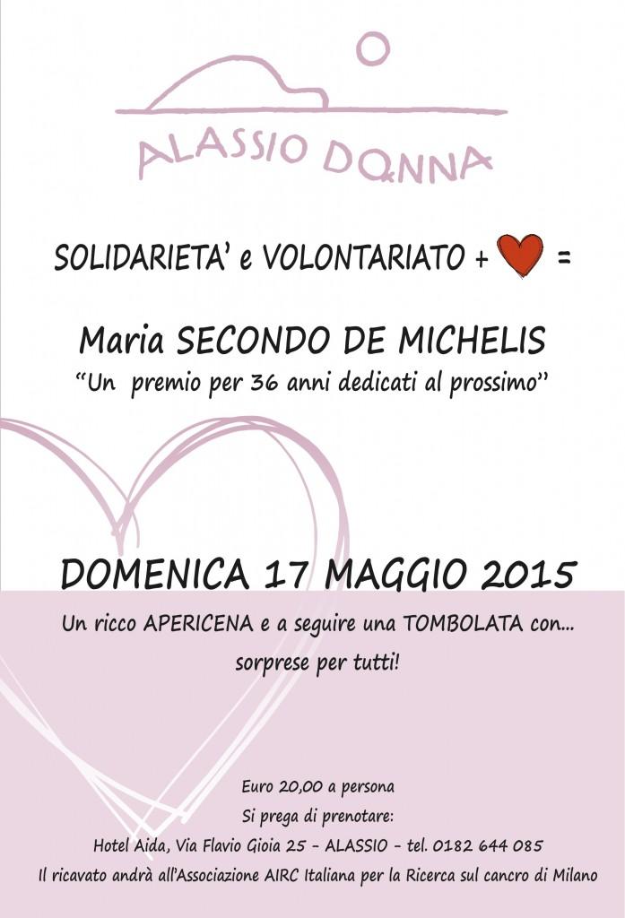 alassiodonna - solidarietà e volontariatop - locandina